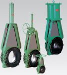 Clarkson Slurry Knife Gate Valve
