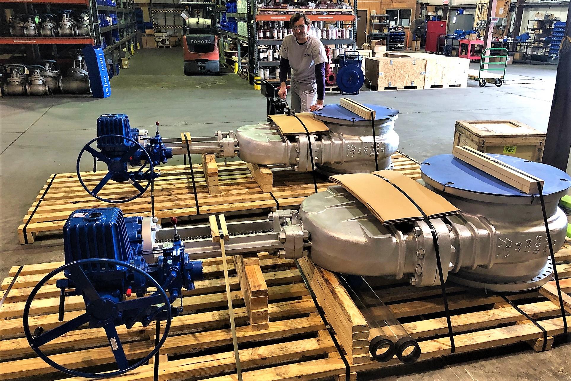 Limitorque L120 Multi Turn Electric Actuator Flotech Inc