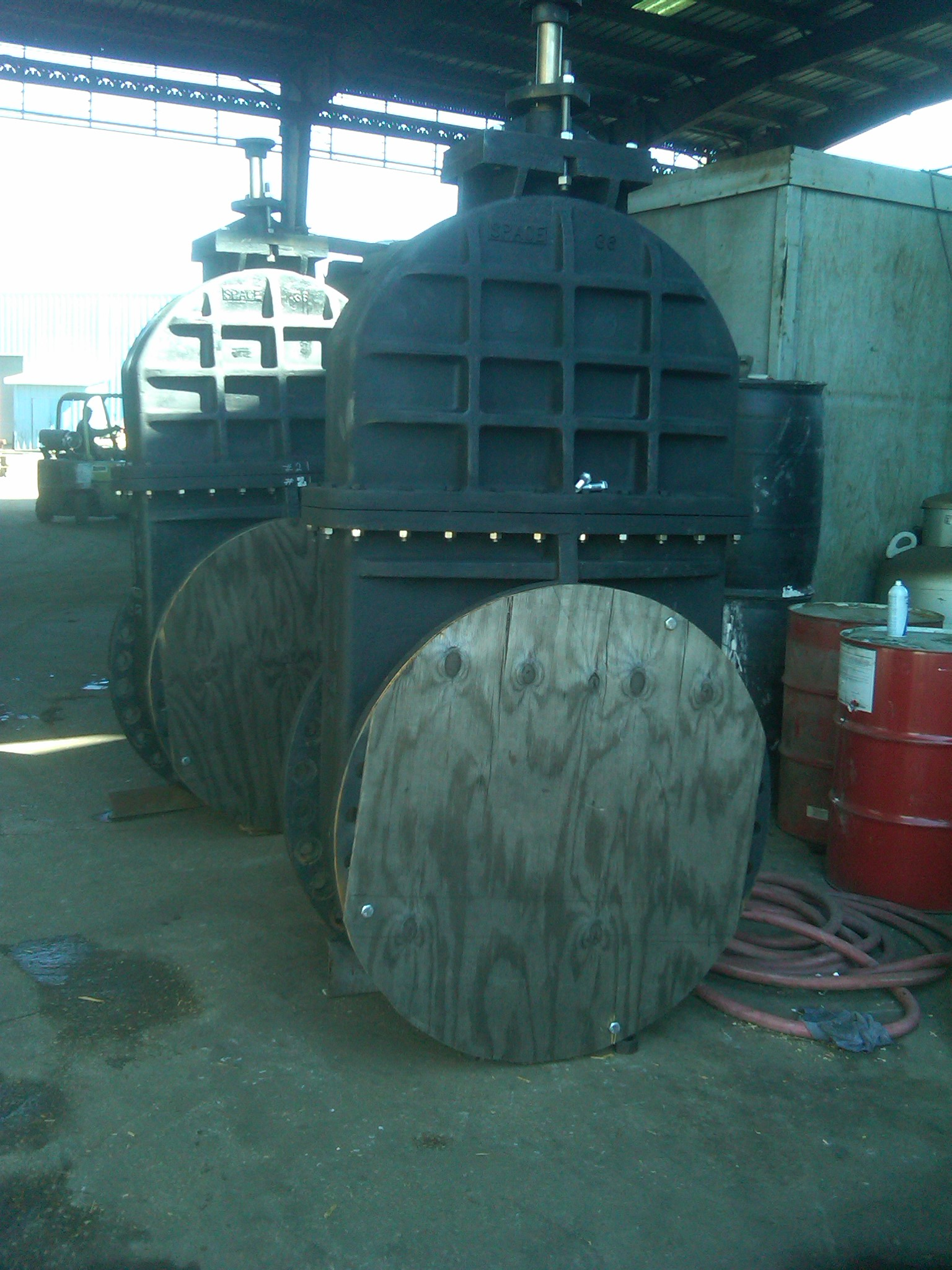 Drydock Gate Valves Marine
