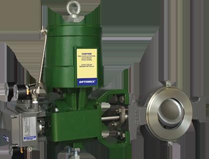 trimteck opdx butterfly control valve